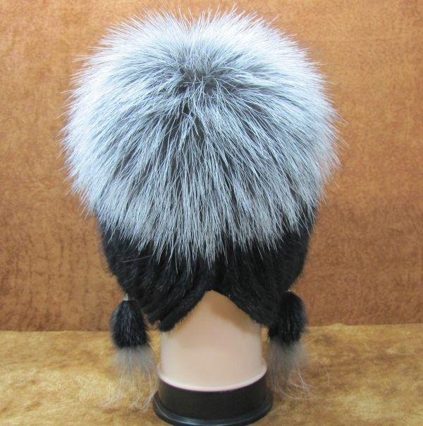 Меховая Женская Шапка из Норки М-018-Н