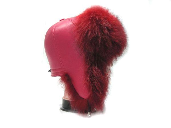 Меховая женская шапка Зимушка из чернобурки М-002-Ч