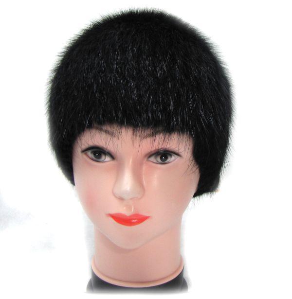 Меховая Женская Шапка из Ондатры «Паричок» М-012-О