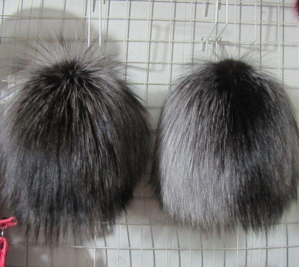 Меховая женская шапка из чернобурой лисы М-003-Ч