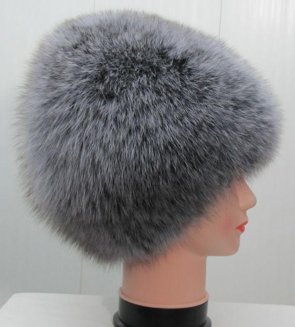 Меховая женская шапка из песца М-008-П