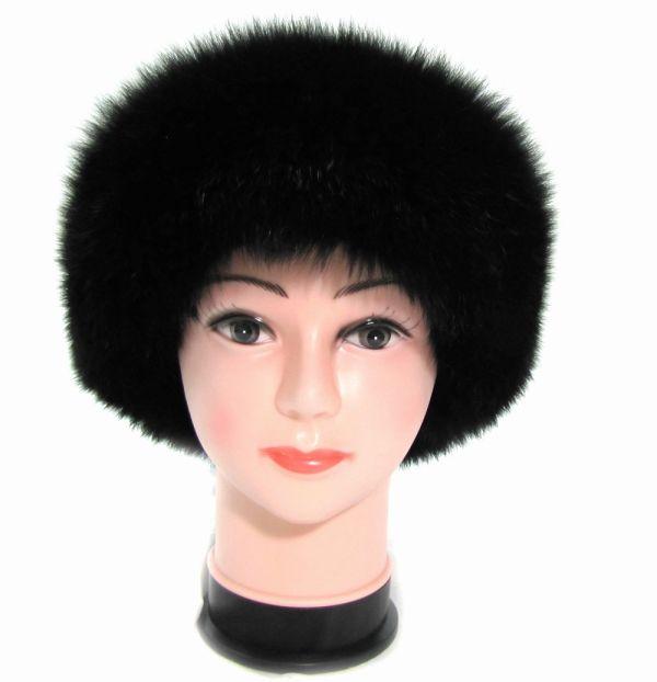 Меховая женская шапка из песца Боярка  М-002-П